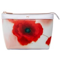 Ted Baker Bernice Playful Poppy Makeup Bag Mid Red