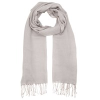 John Lewis Wool Mix Occasion Scarf Grey