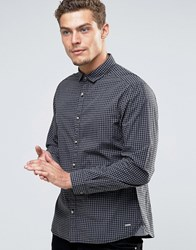 Esprit Check Shirt Black