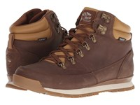The North Face Back To Berkeley Redux Leather Dijon Brown Tagumi Brown Hiking Boots