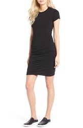 James Perse Women's Ruched Stretch Cotton Dress