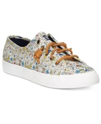 Sperry Women's Seacoast Canvas Sneakers Women's Shoes Natural