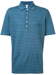 Massimo Alba Wembley Polo Shirt Blue