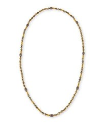 Hipchik Ava Pyrite And Golden Nugget Necklace