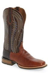 Ariat Men's 'Chute Boss' Cowboy Boot Caliche Leather