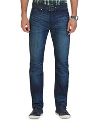 Nautica Faded Straight Fit Jeans Ocean Wave