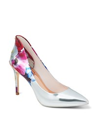 Ted Baker Savei Floral Printed Pumps Pink