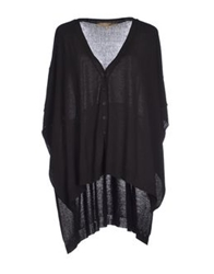 Space Style Concept Cardigans Black