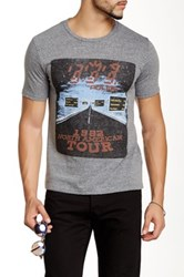 Junk Food The Police Tour 1982 Tee Gray