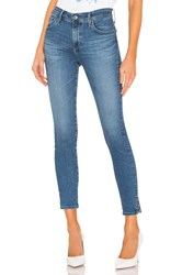 Ag Adriano Goldschmied Farrah Skinny Ankle Crystal Clarity