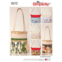 Simplicity Bag Sewing Pattern 8572