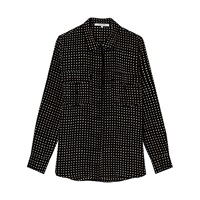 Gerard Darel Baylee Silk Shirt Black