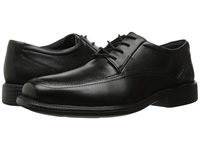Bostonian Ipswich Black Smooth Leather Men's Lace Up Moc Toe Shoes