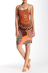 Desigual Sequined Sleeveless Dress Multi