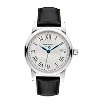 Montblanc Star Date Automatic Watch Silver