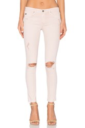 Ag Adriano Goldschmied Legging Ankle Sun Faded Distressed Sandy Rose