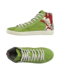 Springa Footwear High Tops And Trainers Men Light Green
