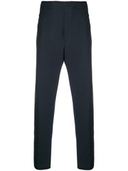 Mauro Grifoni Elasticated Waist Track Trousers Blue