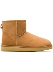 Ugg Australia Slip On Ankle Boots Nude And Neutrals