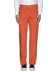 Burberry London Trousers Casual Trousers Men Rust