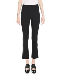Givenchy Cropped Boot Cut Leggings Black