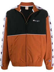 Champion Panelled Logo Band Track Jacket 60