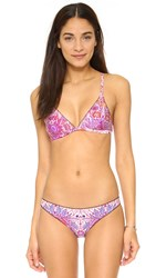 Somedays Lovin Paisley Heat Bikini Top Multi