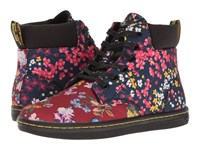 Dr. Martens Maelly Fc Multi Floral Mix T Canvas Women's Boots Red