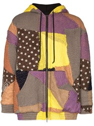 By Walid Hayden Embroidered Patchwork Jacket 108 108 Multicoloured