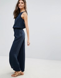 Vila Relaxed Jumpsuit 135 Navy