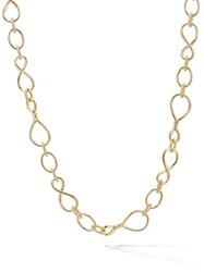 David Yurman 18Kt Yellow Gold Medium Scale Continuance Chain Necklace 88
