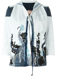 Antonio Marras Embroidered Jacket White
