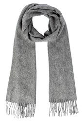 Jack And Jones Jacprm Scarf Grey Melange Mottled Grey