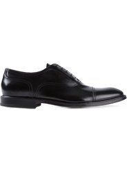 Green George Formal Oxford Shoes Black