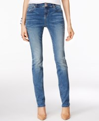Inc International Concepts Petite Sail Wash Straight Leg Jeans Only At Macy's