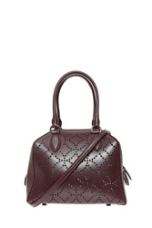 Azzedine Alaia Arabesque Mini Bag Purple