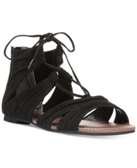 Carlos By Carlos Santana Chloe Lace Up Strappy Sandals Women's Shoes Black