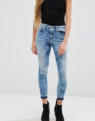Only Ultimate Dyed Ankle Skinny Jeans Cre 48082 Blue