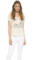 Sol Angeles Smile Tee Antique