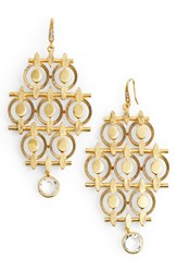 Badgley Mischka Women's Chandelier Drop Earrings Gold