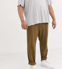 Only And Sons Slim Fit Trousers In Dark Sand Tan