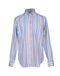 Carlo Pignatelli Shirts Shirts Men Azure