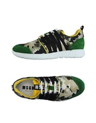 Msgm Footwear Low Tops And Trainers Men Green