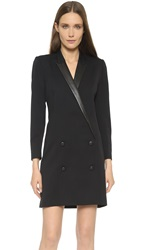 The Kooples Coat Shaped Dress Black