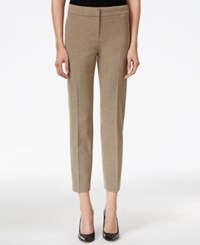 Kasper Petite Crepe Stretch Ankle Pants