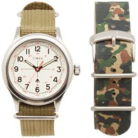 Timex X Todd Snyder Military Watch Gift Set White