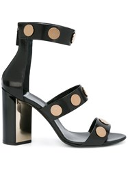Pierre Hardy Studded Strappy Sandals Women Leather 39 Black
