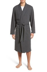 Nordstrom Men's Men's Shop Thermal Robe Charcoal Heather