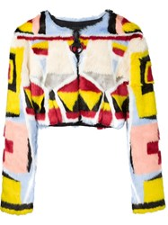 Ktz Cropped Jacket White