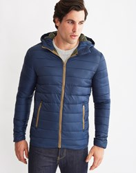 Only And Sons Mens Long Sleeve Short Nylon Jacket Blue